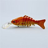 Hot 12 CM 14.5 Gram Floating Multi-jointed Fishing  Lure Hard Body Crank Bait Fishing Tackle