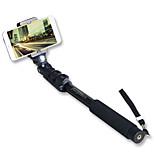 Sinnfoto S8 Aluminum Monopod Extendable Selfie Stick with Phone holder for Smartphone