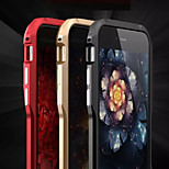 Blade Metal Frame Frosted Never Fade Anti Multicolor Border for iPhone 6/6S(Assorted Colors)