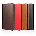 Oil SIDE Leather Crazy Horse Pattern Leather Wallet for Microsoft Lumia 950(Assorted Colors)