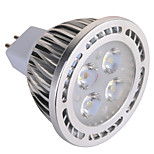 GU5.3(MR16) 6 W 4x3030SMD 540 LM Warm White / Cool White MR16 Decorative Spot Lights AC 85-265 / AC 12 V