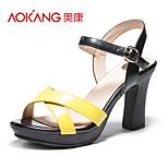 Aokang® Women's Leatherette Sandals - 132811247