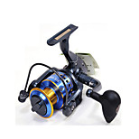 Fulang Fishing  Metal Spinning Reel with 12+1 Bearing Before Unloading Force Fishing Reels FR45