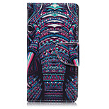 Ivory Pattern PU Leather Full Body Cover with Stand for Sony Z5