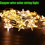 King Ro 4M20LED Warm White Waterproof outdoor or indoor decor light christmas copper wire light