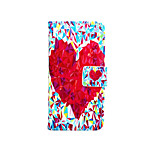 Love Painted PU Phone Case for iphone 6/6S