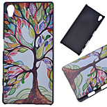 Color Tree Pattern PC Hard Cover Case for Sony Z5