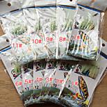 AnmukaFree shipping  5pcs New Sabiki Soft Fishing Lure Rigs Luminous Shrimp Bait Jigs Lure soft Lure Worn Fake Lure
