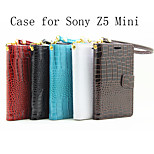 Flip Leather Magnetic Protective Case For Sony Xperia Z5 Compact(Assorted Colors)
