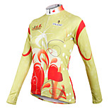 ilpaladinoSport Women Long sleeve Cycling Jersey New Style  Style heart filled  CX595 100% Polyester
