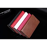 New Fashion Genuine Leather Litchi Cowhide Skin Wallet Card Slot Cover Flip Case with Stand for iphone 5/5S