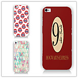 Digital Triangle Pattern PC Phone Case Back Cover Case for iPhone5/5S
