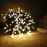 King Ro 19.7ft 60LED Solar String Lights Fine Chritmas Decoration String Lights Outdoor Whateproof Lights