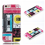 Magnetic Tape Pattern Phone Shell Thin TPU Material for iPhone 6/6S