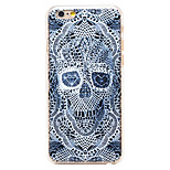 Diamond Skeleton Pattern Transparent PC Back Cover for iPhone 6