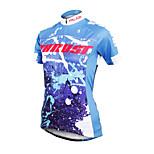 ilpaladinoSport Women Short Sleeve Cycling Jersey New Style Distinctive  DX600  Trust  100% Polyester