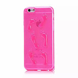The Ultra-Thin TPU Cute Little Feet Cover Cases for iPhone6/iPhone 6s(Assorted Colors)