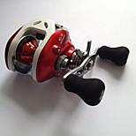 6.3:1 12 Ball Bearings Baitcast Reels Bait Casting / Freshwater Fishing / Lure Fishing /  Right-handed LPB100 R - FSD