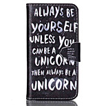 Cool Words Pattern PU Leather Full Body Cover with Stand for Sony Xperia Z3 Compact