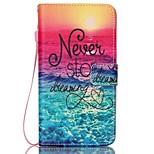 Samsung Galaxy Note 5 huomautuksen 4 suojus kortin haltija lompakon jalustalla läppä malli kokovartalo asiassa sana / lause kova PU nahka