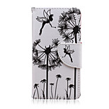 Dandelion Pattern PU Leather Full Body Cover with Stand for Sony Xperia Z5 Compact