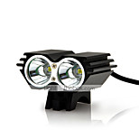 5000 Lumens 2x CREE U2 LED Front Bicycle Lamp Bike Light