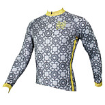 PaladinSport Men's Long Sleeve Cycling Jersey New Style CX510CX Classic 100% Polyester