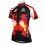 ilpaladinoSport Women Short Sleeve Cycling Jersey New Style Breakup Buddies DX589 100% Polyester