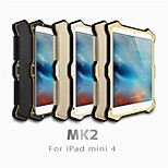 LOVE MEI MK 2 Gorilla Glass Shockproof Outdoor Case Metal Frame for iPad mini 4