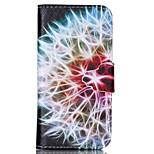 Löwenzahn-Ball-Muster PU-Leder Telefonkasten für iphone 5 / 5s