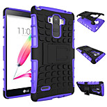 TPU+ PC Hybrid Rugged Rubber Armor stand Hard Cover Cases For LG G4 stylus ls770