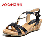 Aokang® Women's Leather Sandals - 132823654