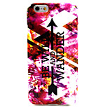 Arrow TPU Pattern Back Cover Mobile Phone Protection Shell for iPhone 6/6s