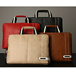 High Quality Leather Multifunctional Handbag for Macbook Compatible Laptop 13inch 15 inch