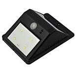 Solar Power Motion Sensor Wireless LED Light Outdoor Garden Security Wall Lamp