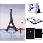 Novelty Cartoon PU Leather Folio Case Shockproof Case for iPad Air 2