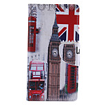 Big Ben Pattern PU Leather Full Body Cover with Stand for Sony Xperia M4 Aqua