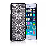 Luxury Floral Painted 3D Relief Clear Transparent for Apple Iphone 6/ iPhone 6S(Assorted Colors)