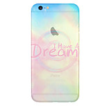 Natural SceneryPattern TPU Material Phone Case for iPhone 6/6S