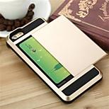 VERUS Hybrid Luxury Card pocket wallet ShockProof Slim case for iphone 6/6S