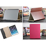 Luxury Grid Leather Case Card wallet Stand Smart Cover protective book cases For ipad Air/ipad5(Assorted Color)