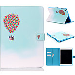 Novelty Cartoon PU Leather Folio Case Shockproof Case for iPad 4/3/2