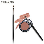 Stellaalpina Brow Brush Badger Professional Wood Eye