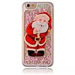 Babbo Natale diamante calotta verniciata cassa del telefono del pc per iphone5 / 5s