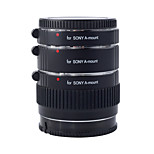 KOOKA KK-S68 Brass AF 3 Extension Tubes with TTL Auto Exposure for Sony (12mm 20mm 36mm) SLR Cameras