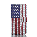 Indian US Flag Pattern PU Leather Stand Case Cover with Card Slot for Sony Xperia Z3 / Z3 Compact D5803 M55w