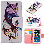 Coloured Drawing or Pattern Graphic Wallet Cases with Stand Full Body Cases for  iPhone 6S Plus/iPhone 6 Plus