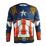 ARSUXEO Bike/Cycling Jersey / Tops Unisex Long Sleeve Breathable / Quick Dry / Anatomic Design Polyester Cartoon Red M / L / XL / XXL