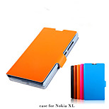 Leather Card Scaffolding Leather For  Nokia XL Mobile Phone