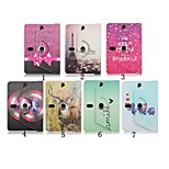 Print Pattern 360 Degree Rotation High Quality PU Leather with Stand Case for 7 Inch Universal Tablet